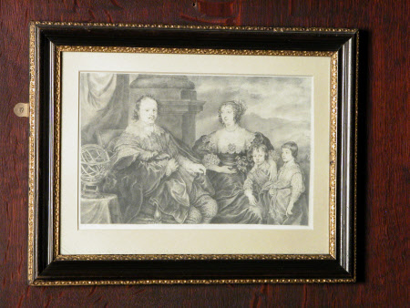 Sir Kenelm Digby (1603-1665) with his wife Venetia Stanley (1600-1633) and their two eldest sons, ...
