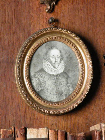 An unknown man, called William Shakespeare (1564-1616)