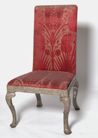 Erddig's '8 floured Crimson Velvet Chairs with silver Frams [sic]' - circa 1720-6