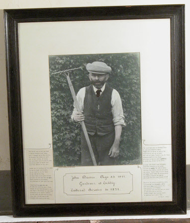 John Davies, Gardener at Erddig