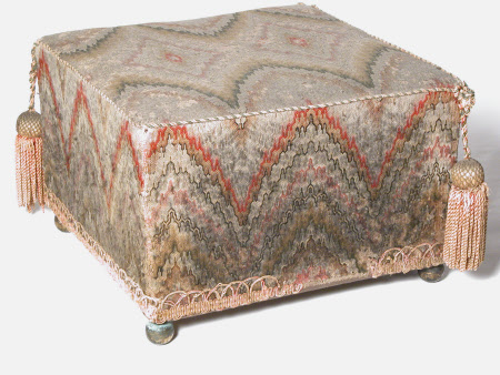 A pair of footstools