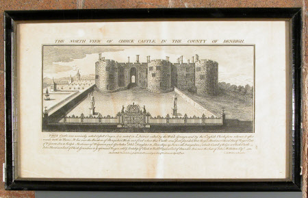 North view of Chirk Castle, Denbighshire