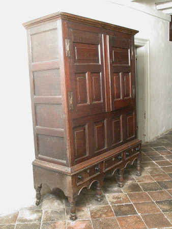 Livery cupboard on stand
