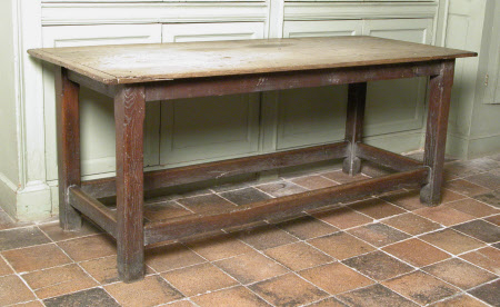 'refectory' table
