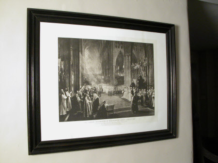 The Jubilee Celebration in Westminster Abbey June 21st 1887 etc'