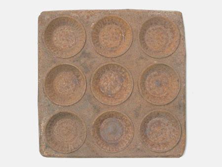 Tart mould tray