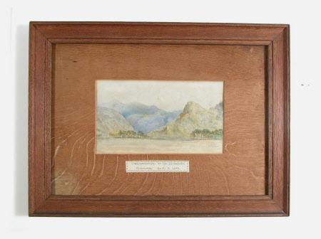Craig-y-derryn or The Bird Rock. Merioneth