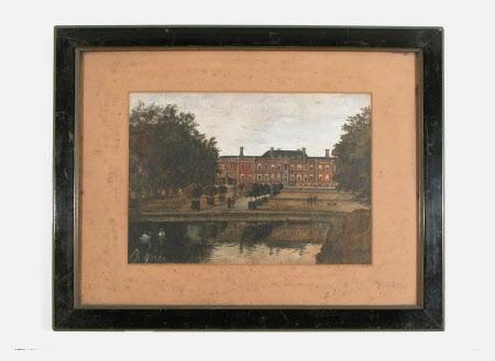 East Front, Erddig: c.1879