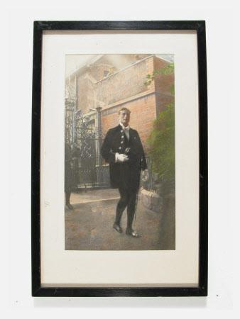 Simon Yorke IV (1903-1966) in ceremonial dress