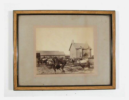 Unidentified farmhouse