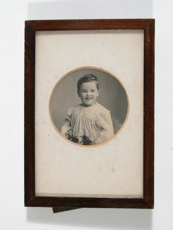 Portrait of unidentified baby