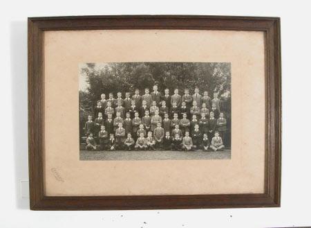 School group, Moorland House 1914
