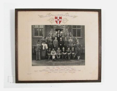 Cambridge University School of Forestry 1926