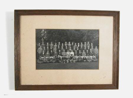School photograph including Simon Yorke IV (1903-1966)