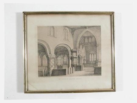 Interior of Belton Church, Lincolnshire