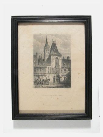 Hotel de Jacques Coeur, Bruges: 1863
