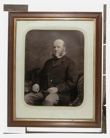 Portrait of unidentified man