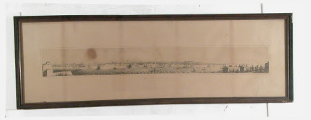 A panoramic view of Liverpool from Birkenhead: 1848