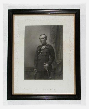 Colonel Robert Myddelton Biddulph (1805 - 1872) of the Denbighshire Militia (after The Hon. Henry ...