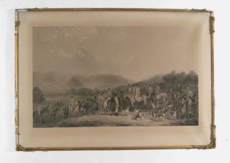 The Wynnstay Hunt (after Henry Calvert)