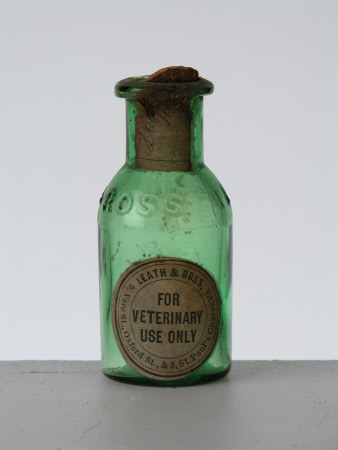 Veterinary medicine bottle