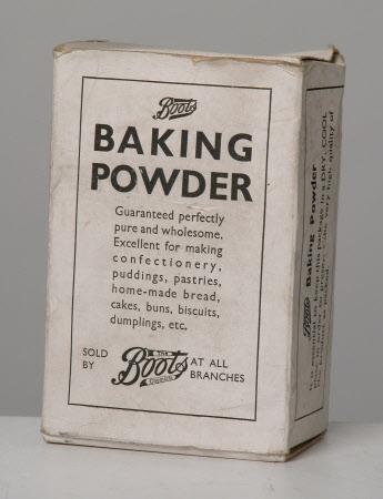 Baking powder carton