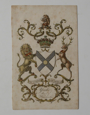 Bookplate Yorke Earle of Hardwicke