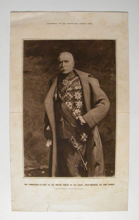 Field Marshall John Denton Pinkstone French, Earl of Ypres (1852-1925)