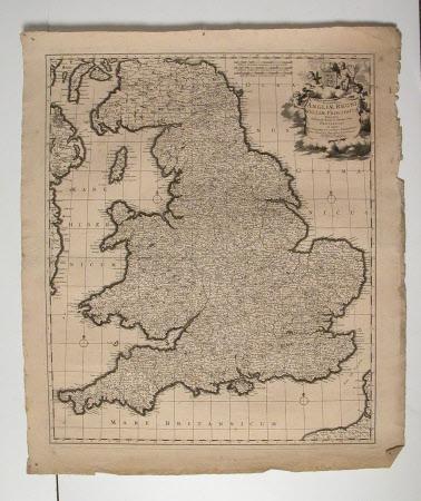 Map of England and Wales (Angliae Regni et Walliae Principatus)