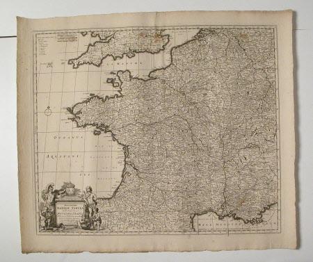 Map of France (Galliae Tubula)