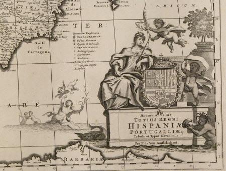Map of Spain and Portugal (Hispaniae and Portugalliae)