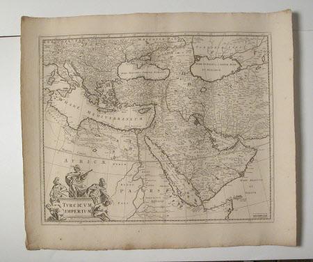 Map of the Turkish Empire (Turcicum Imperium)