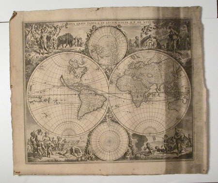 Map of the World, c.1670