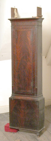 Longcase clock part