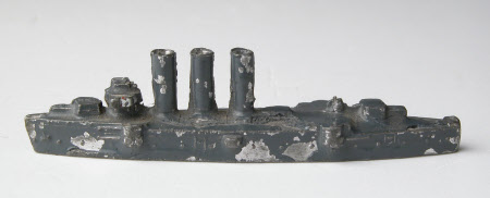 Toy battleship