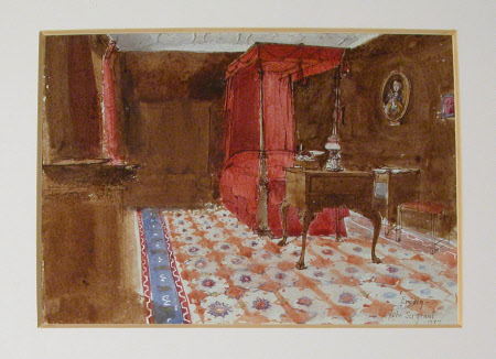 The Red Bedroom, Erddig
