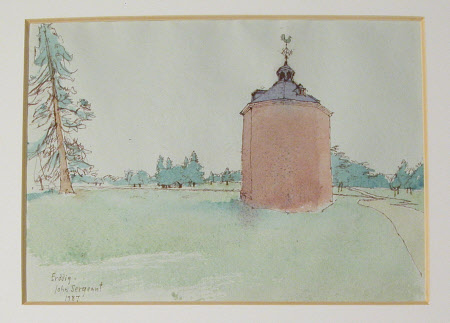 The Dovecote, Erddig. 1987