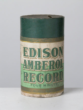 Phonograph cylinder tube
