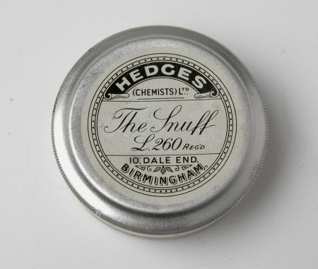 Snuff container