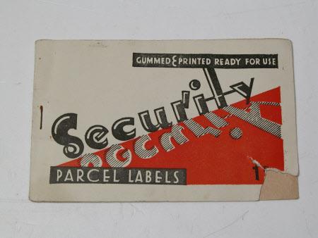 Label book