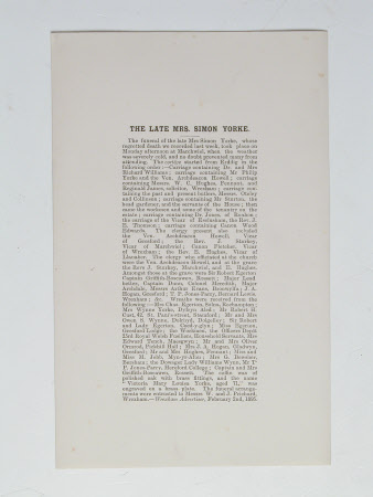 Newspaper reprint