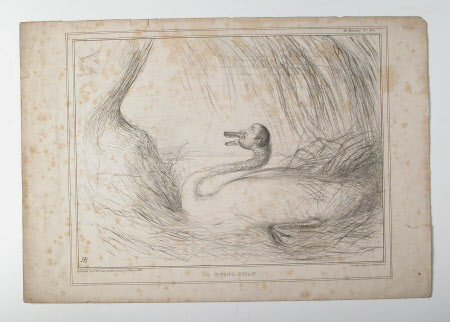 A Dying Swan 1837 - John Cam Hobhouse, Baron Broughton de Gyfford (1786-1869) and Sir Robert Peel, ...