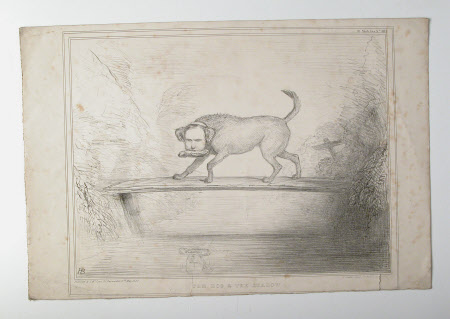 The Dog and the Shadow - Sir Francis Burdett, 5th Bt, MP (1770-1844) and John Temple Leader, MP ...
