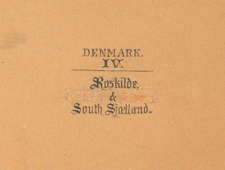 Denmark IV Roskilde and South Sjaelland