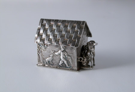 Miniature toy kennel