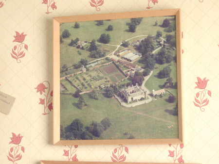 Aerial view of Croft Castle, Herefordshire