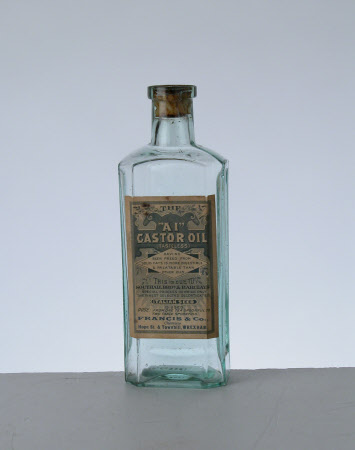 Caster oil bottle