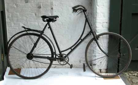 Lady's safety bicycle