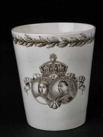 Commemorative beaker