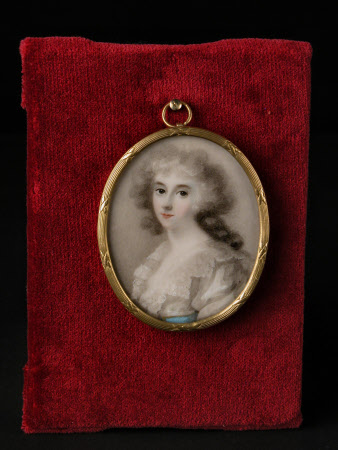 Possibly Agnes Hamilton, Mrs John Palmer Chichester (d.1814)